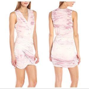 Young Fabulous & Broke Pink Marble Cadler Dress